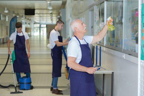 Contrat de nettoyage pour professionnel