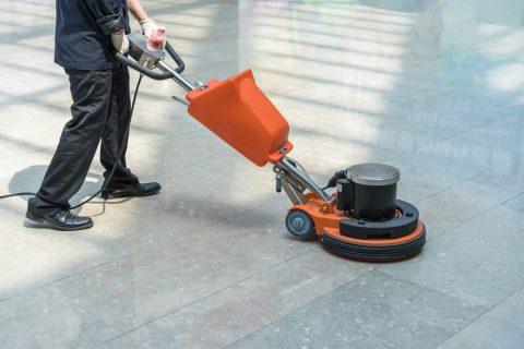 Le nettoyage de locaux professionnels